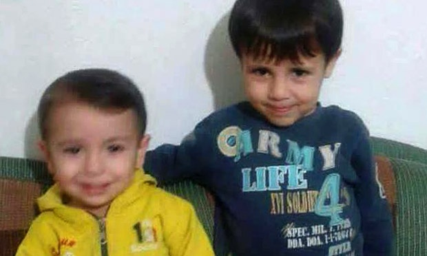 Alyan and Galip Kurdi, beautiful little boys whose lives were claimed this week by conflict in Syria